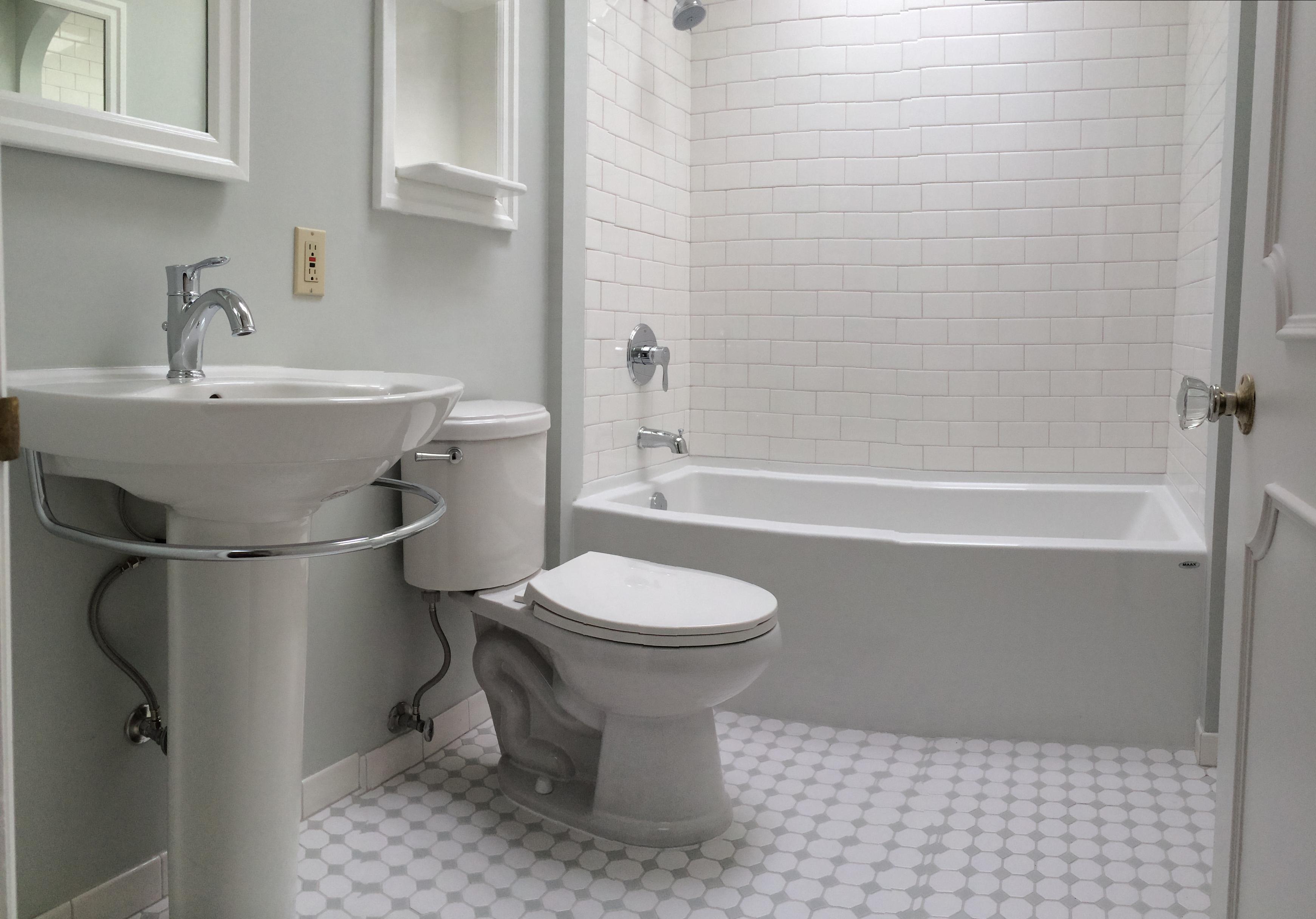 New Plumbing Fixtures