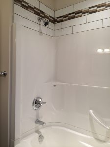 Venco tub and shower surround